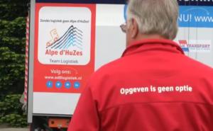 Vanochtend verzamelde Team Logistiek Alpe d'HuZes zich in Nederweert voor de aftrap!