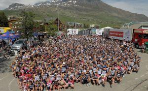 De Alp d'HuZes 2017 is vanmorgen van start gegaan!