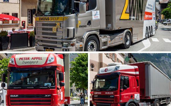 Deze bedrijven sponsoren een vrachtwagen voor Alpe d'HuZes 2016