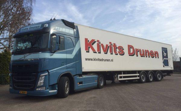 Een nieuwe trucksponsor heeft zich aangemeld!