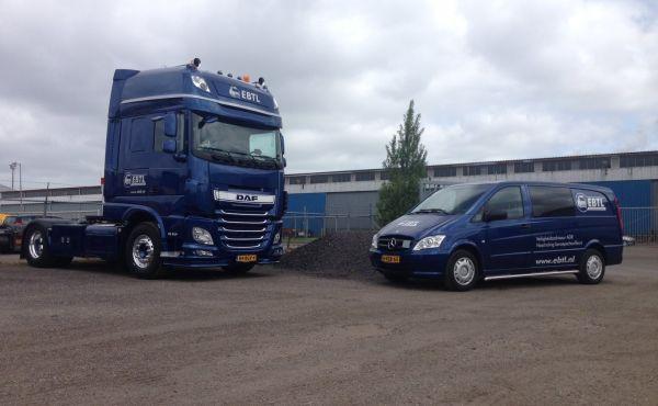 Erik Boots Transport/EBTL Transportopleidingen brengt twee auto's naar Alpe d'HuZes!
