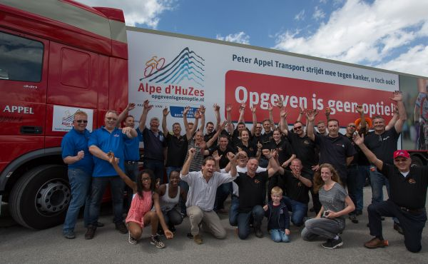 Team Logistiek Alpe d'HuZes