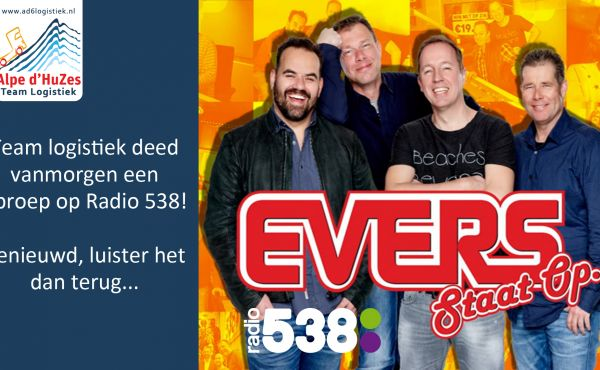 Heb jij ons ook gehoord op radio 538? bekijk het hier terug