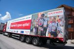 Trailer Team Logistiek Alpe d'HuZes